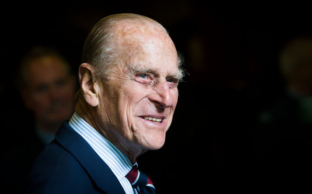 Image Credits: Getty Images / Danny Lawson - WPA Pool | Prince Philip, Duke of Edinburgh smiles during a visit to the headquarters of the Royal Auxiliary Air Force's (RAuxAF) 603 Squadron on July 4, 2015 in Edinburgh, Scotland.