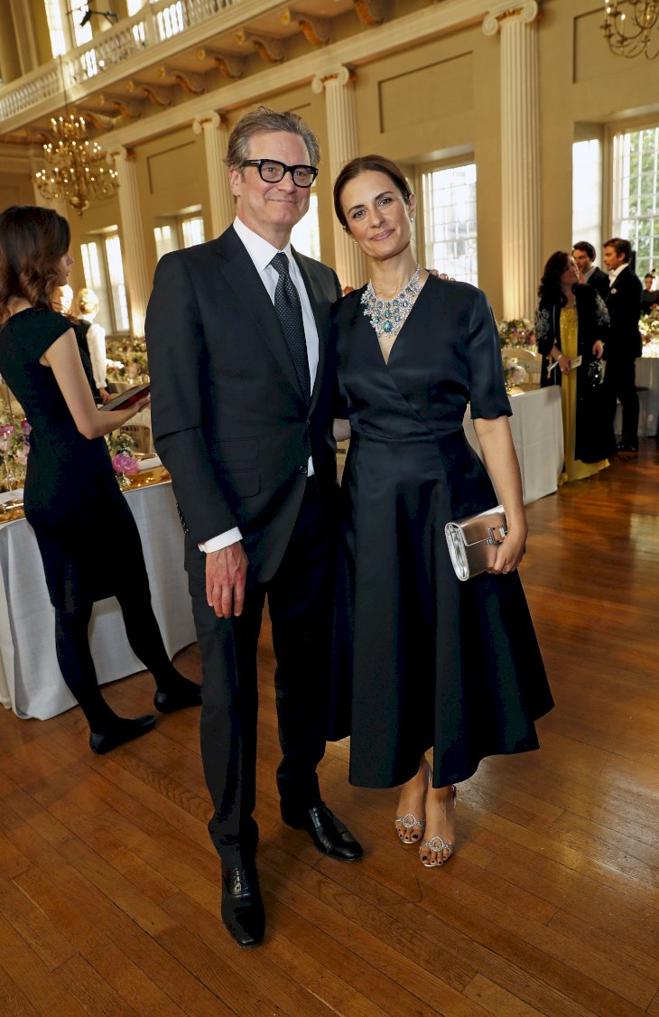 Image Credit: Getty Images/Getty Images for Chopard/David M. Benett/Dave Benett |Colin Firthand Livia Firth attend Chopard Bond Street Boutique reopening