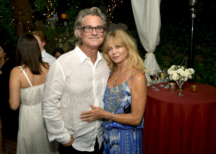 Image Credit: Getty Images / Goldie Hawn and Kurt Russell at an event.