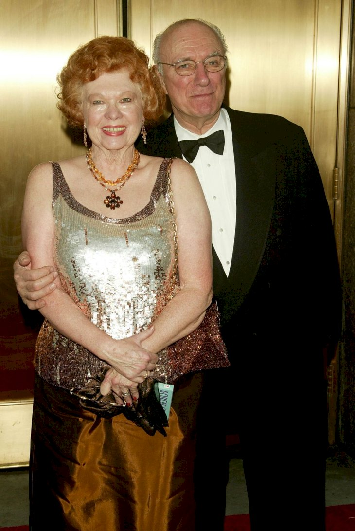 Philip Bosco and wife/Photo:Getty Images