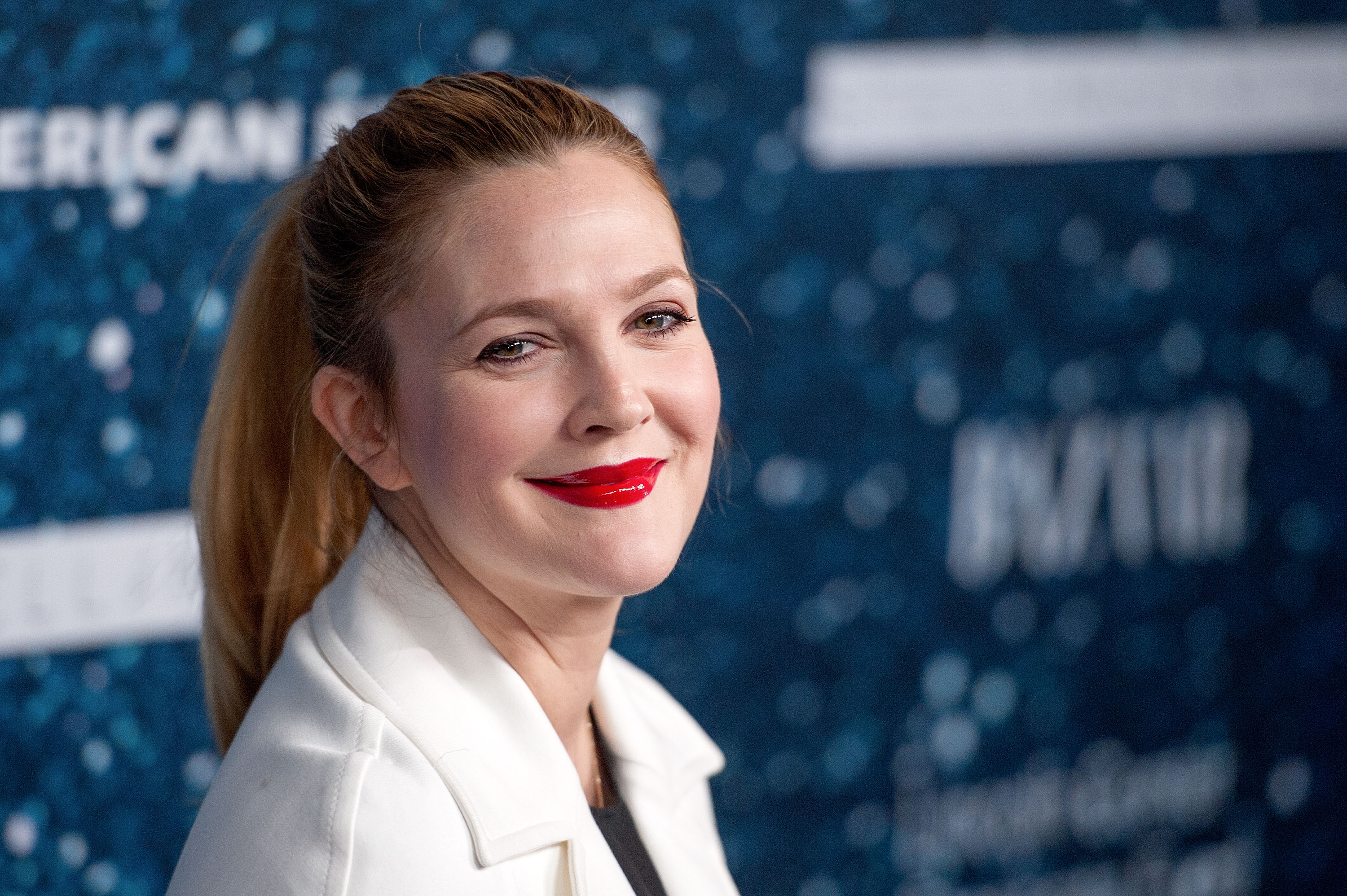 Image Credits: Getty Images / D Dipasupil / FilmMagic | Drew Barrymore attends the 2014 Women's Leadership Award Honoring Stella McCartney at Alice Tully Hall at Lincoln Center on November 13, 2014 in New York City.