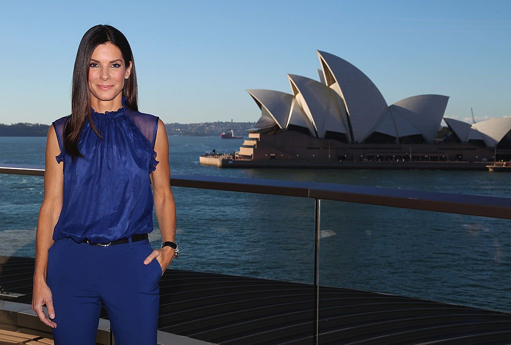"Image Credits: Getty Images / Don Arnold / WireImage | Sandra Bullock poses during the ""The Heat"" photo call at the Park Hyatt on July 2, 2013 in Sydney, Australia."
