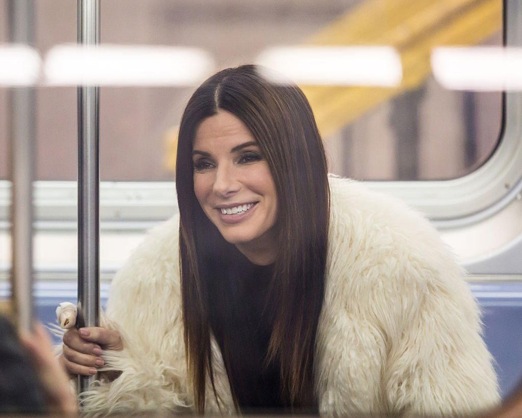Image Credits: Getty Images / Alessio Botticelli / FilmMagic | Sandra Bullock is seen filming 'Ocean's 8' on December 3, 2016 in New York City.