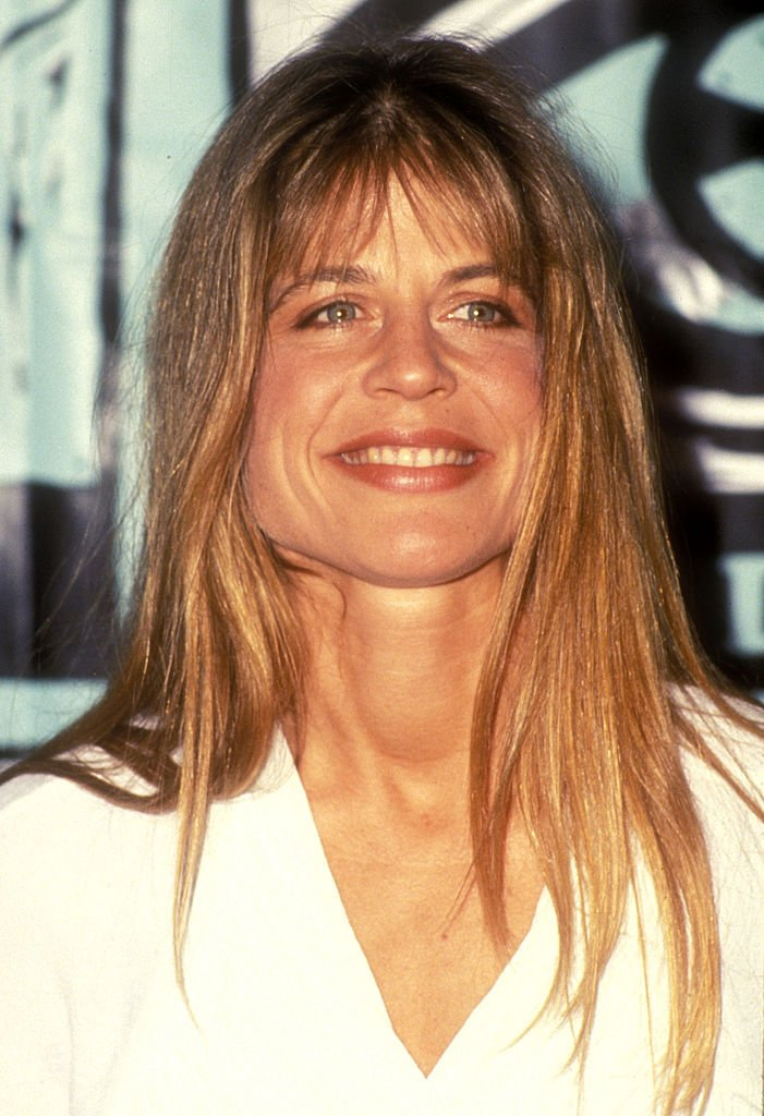 Image Credits: Getty Images / SGranitz / WireImage | Linda Hamilton, presenter during The 1991 MTV Music Video Awards - Press Room at The Universal Amphitheater in Universal City, CA, United States.