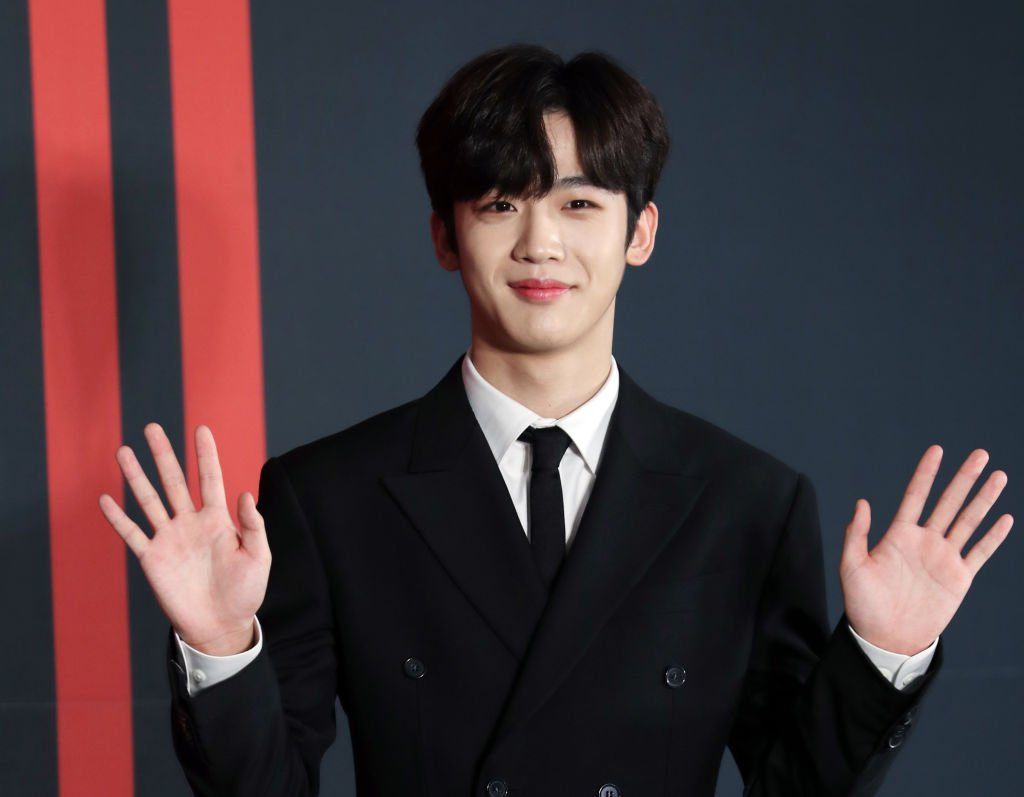 Image Credit: Getty Images / Kim Yohan of X1 attends the 1st Mini Album Quantam Leap Showcase at Gocheok Skydome on August 26, 2019 in Seoul