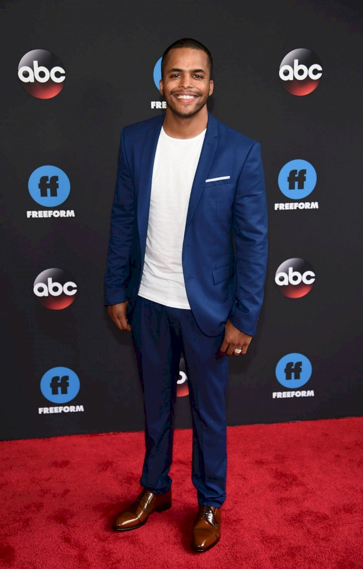 Chris Warren Jr. attends during 2018 Disney, ABC, Freeform Upfront at Tavern On The Green on May 15, 2018 in New York City. (Photo by Dimitrios Kambouris/Getty Images)