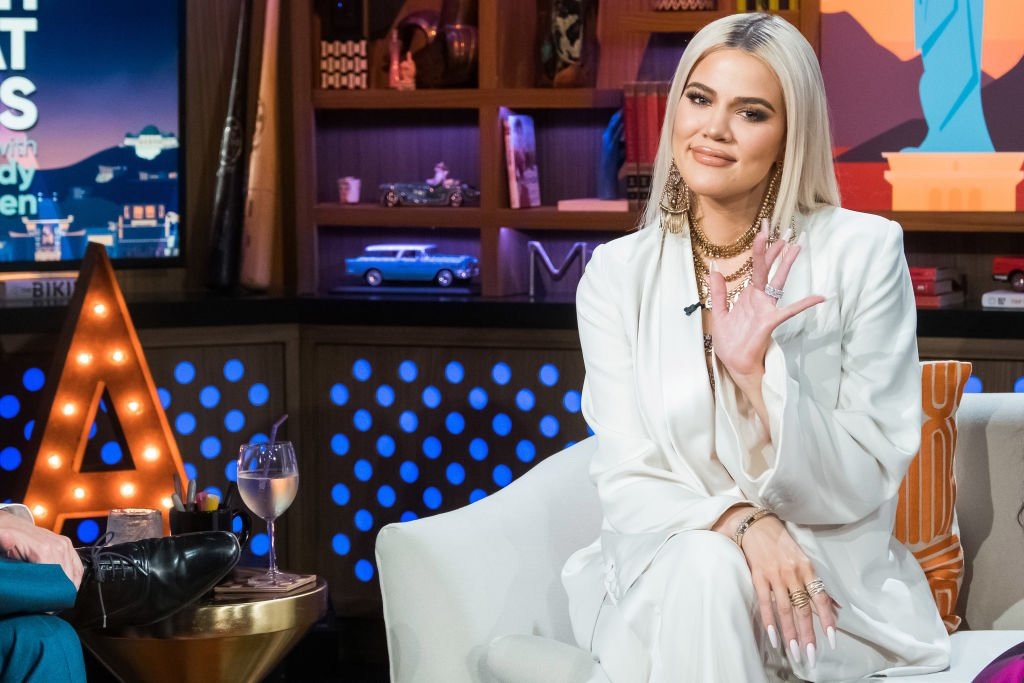 Image Credit: Getty Images / Khloe Kardashian is seen on Watch What Happens Live With Andy Cohen.