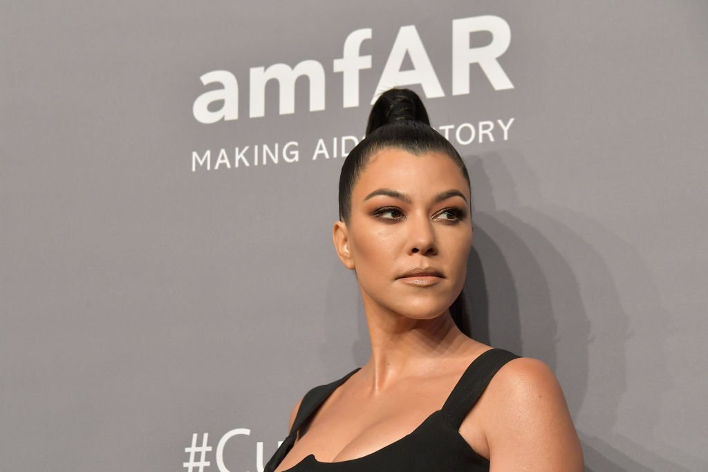 Image Credits: Getty Images / Michael Loccisano/Wire Image | Kourtney Kardashian attends the amfAR New York Gala 2019