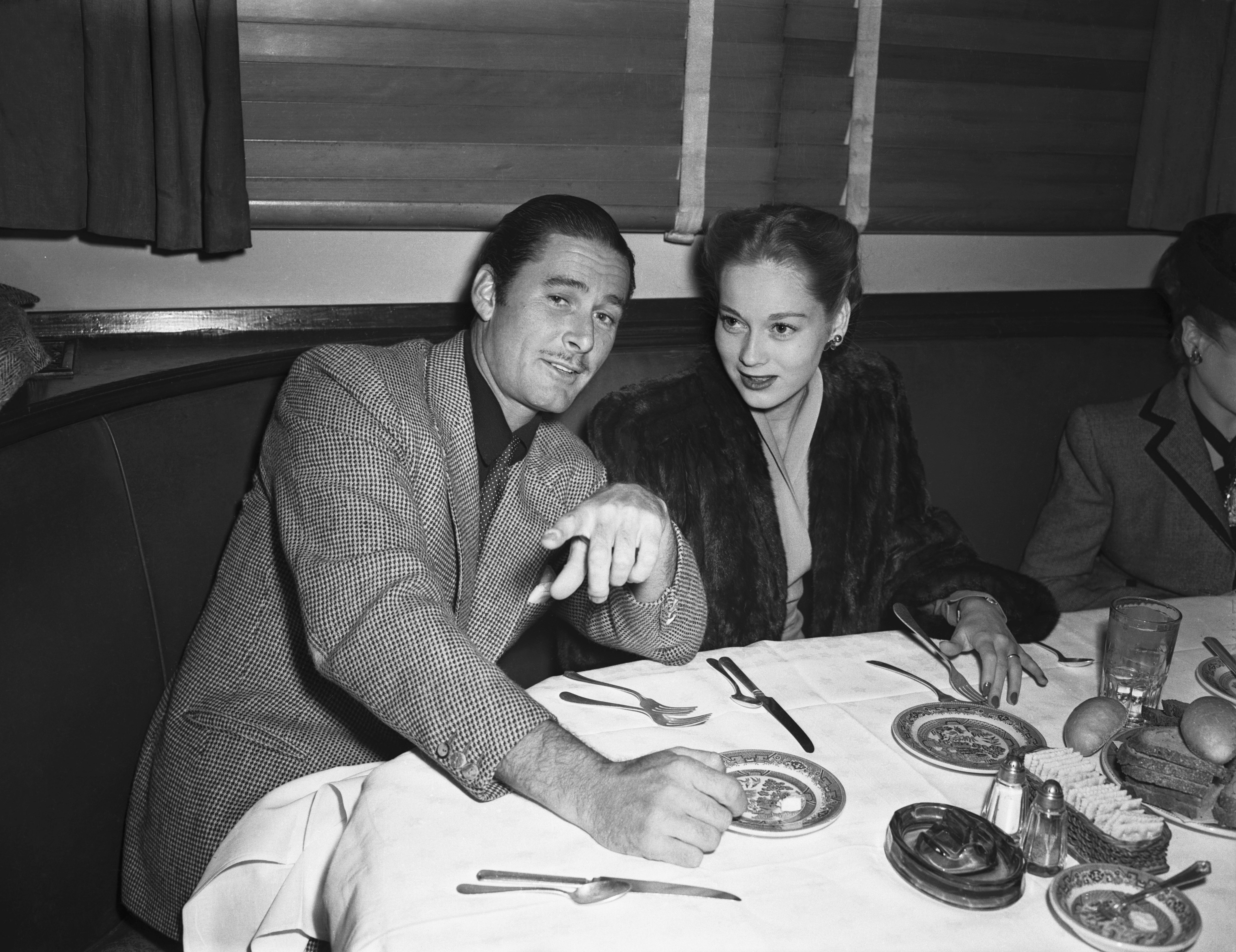 Image Source: Getty Images/Errol at a restaurant