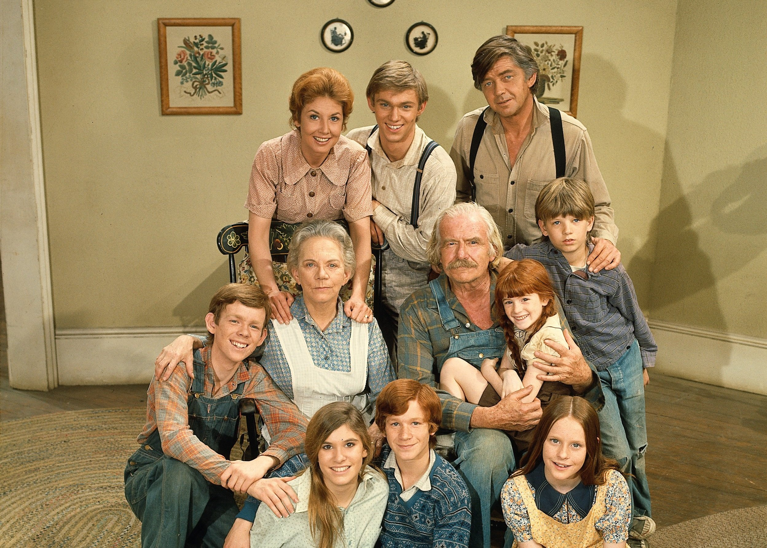 The Cast Of The Waltons Then And Now