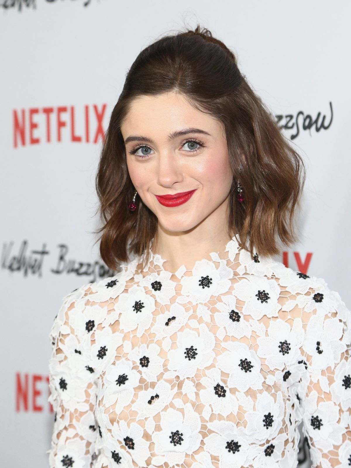 Natalia Dyer attending a red carpet event/Photo:Getty Images
