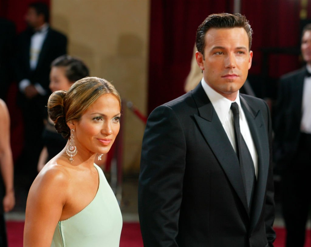Image Source: Getty Images/Kevin Winter/Actors Ben Affleck and fiancee Jennifer Lopez attend the 75th Annual Academy Awards at the Kodak Theater on March 23, 2003 in Hollywood, California
