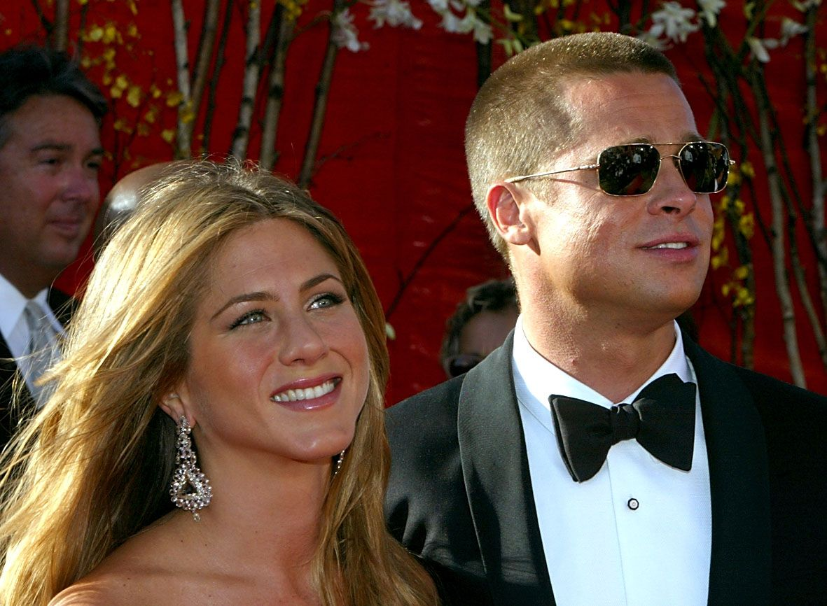 Jennifer Aniston and Brad Pitt used to be one of the most beautiful couples in Hollywood / Getty Images
