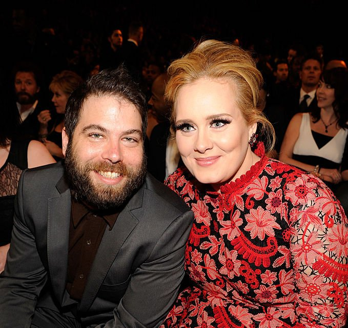 Image Credit: Getty Images / Adele (R) and Simon Konecki attend the 55th Annual GRAMMY Awards at STAPLES Center on February 10, 2013 in Los Angeles, California.