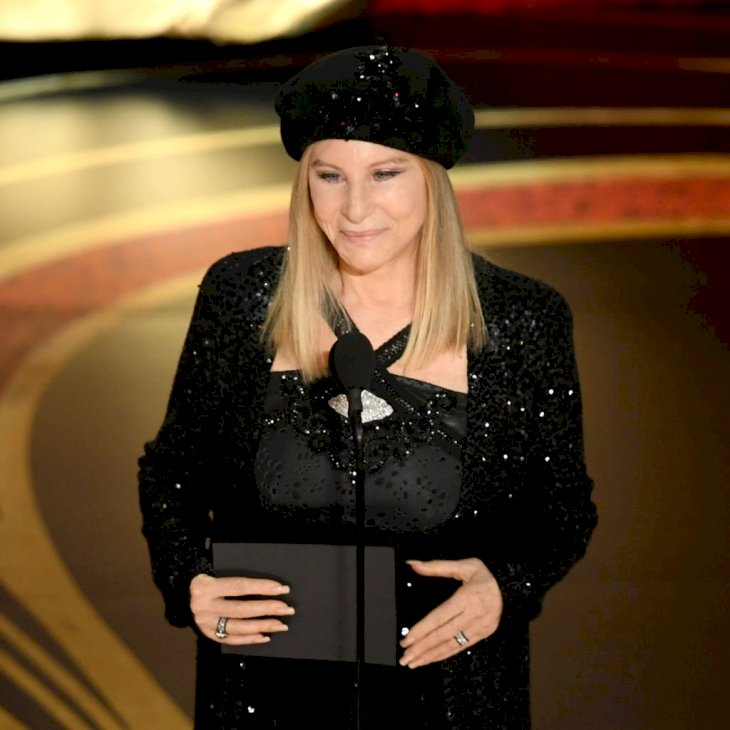 Image Credit: Getty Images / Barbra Streisand speaks onstage during the 91st Annual Academy Awards at Dolby Theatre on February 24, 2019 in Hollywood.