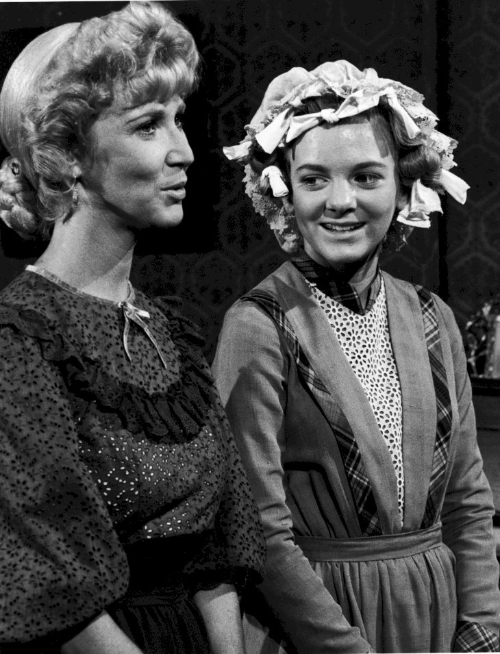 Image Credit: Getty Images/NBC Television |Charlotte Stewart (left) and Alison Arngrim in a scene from the show