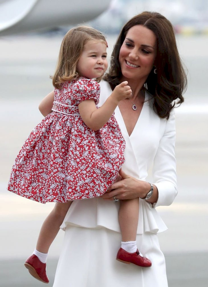 Image Credit: Getty Images / A photo of Catherine, Duchess of Cambridge and Princess Charlotte of Cambridge.