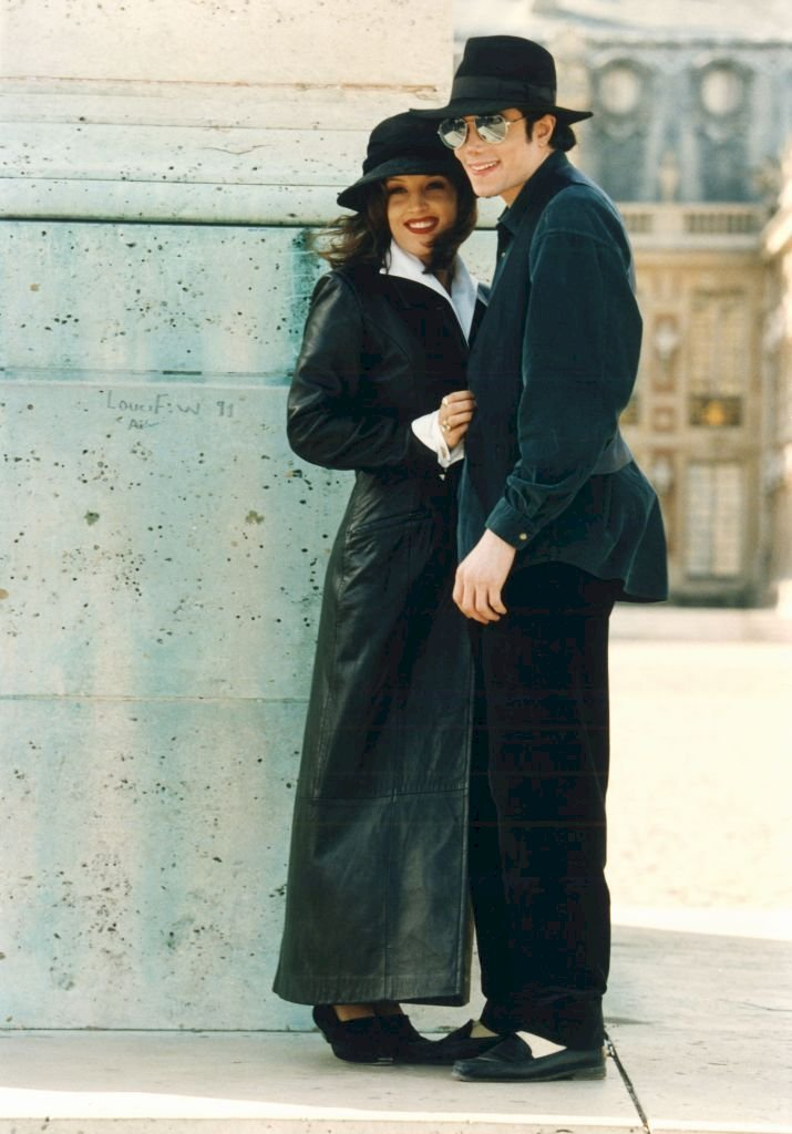 Image Credit: Getty Images / Michael Jackson with Lisa Marie Presley in Versailles, 1994.