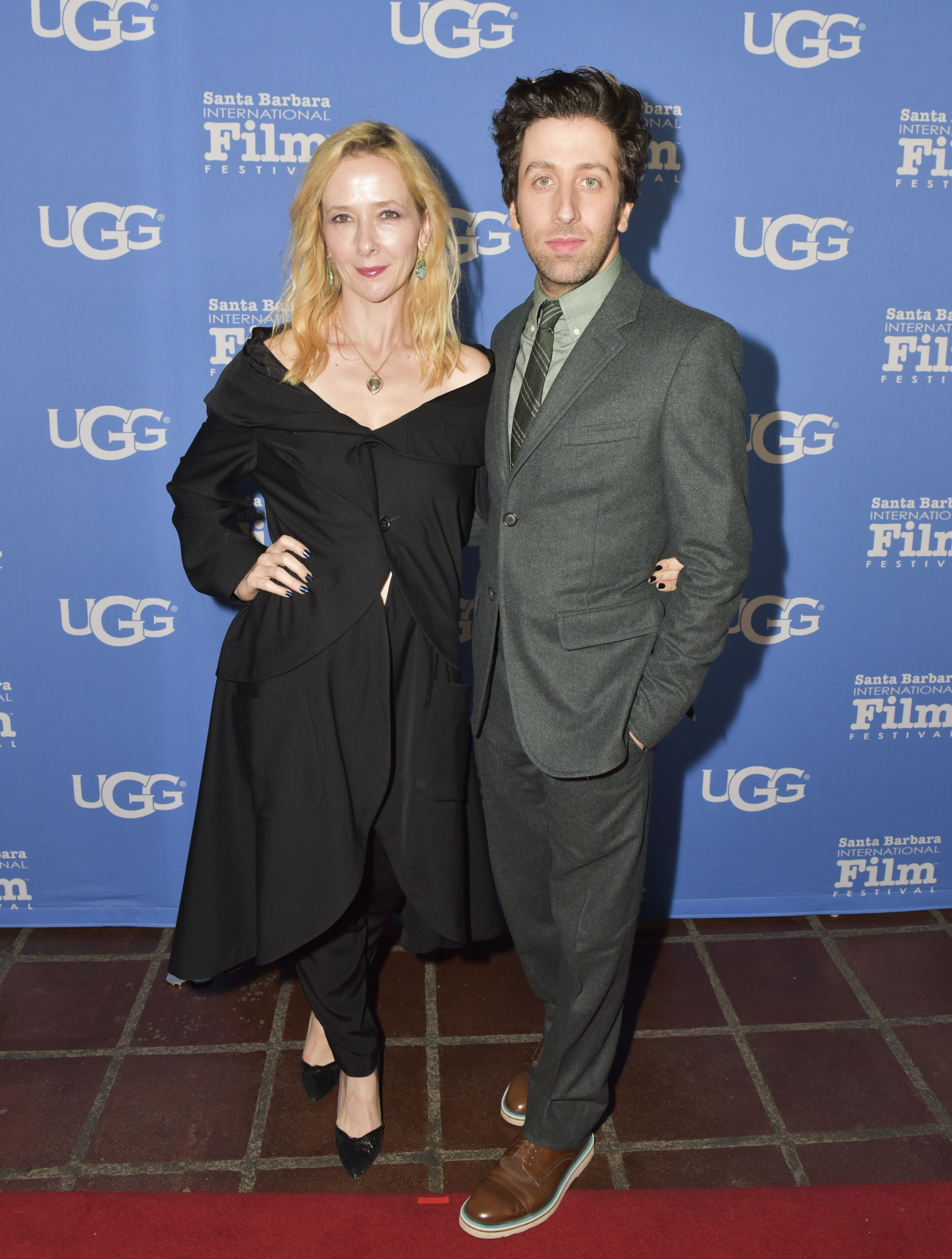 Simon Helberg and Jocelyn Towne/Photo:Getty Images