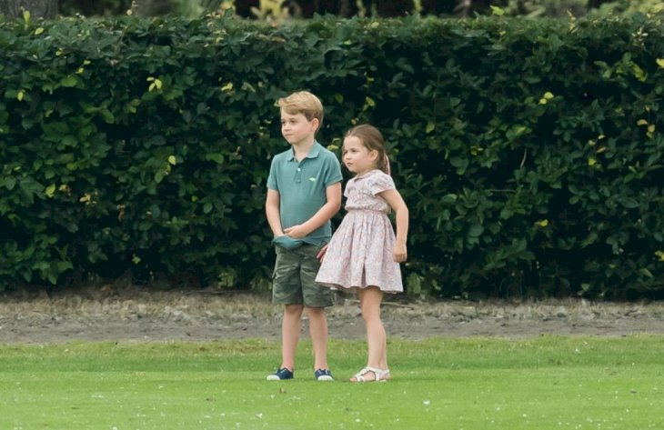 Image Credit: Getty Images / rince George and Princess Charlotte attend The King Power Royal Charity Polo Day at Billingbear Polo Club on July 10, 2019.