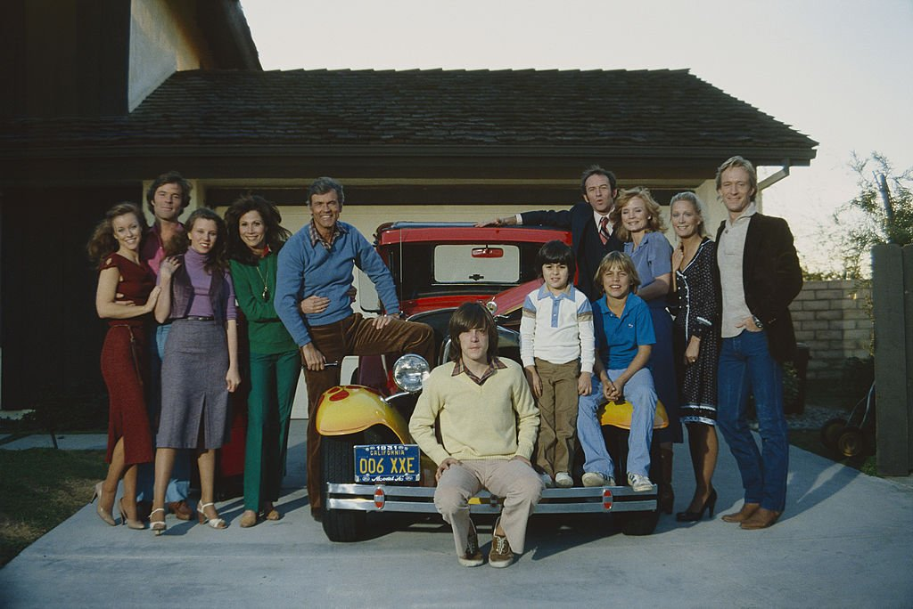 Image Credit: Getty Images / Knots Landing cast photograph in 1979.