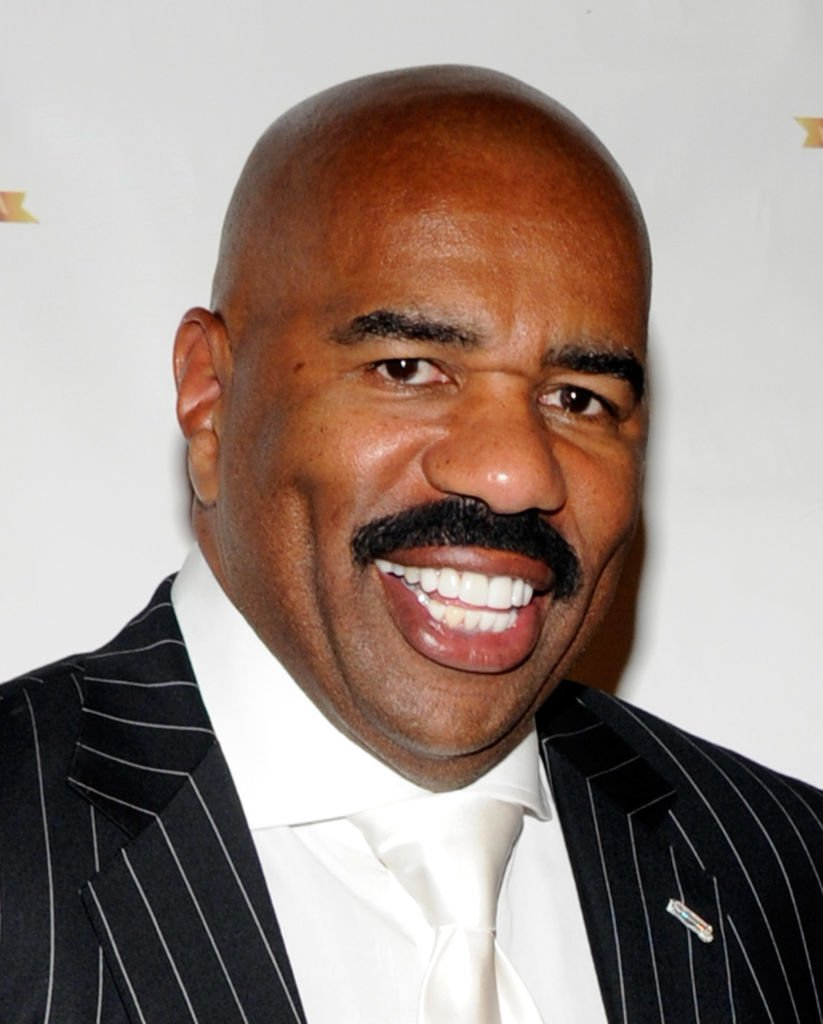 Image Source: Getty Images | A photo of Steve Harvey
