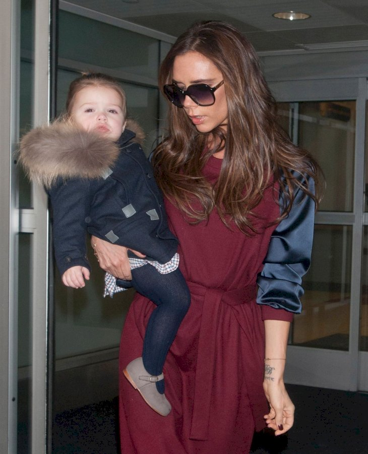 Victoria and Harper Beckham/Photo:Getty Images