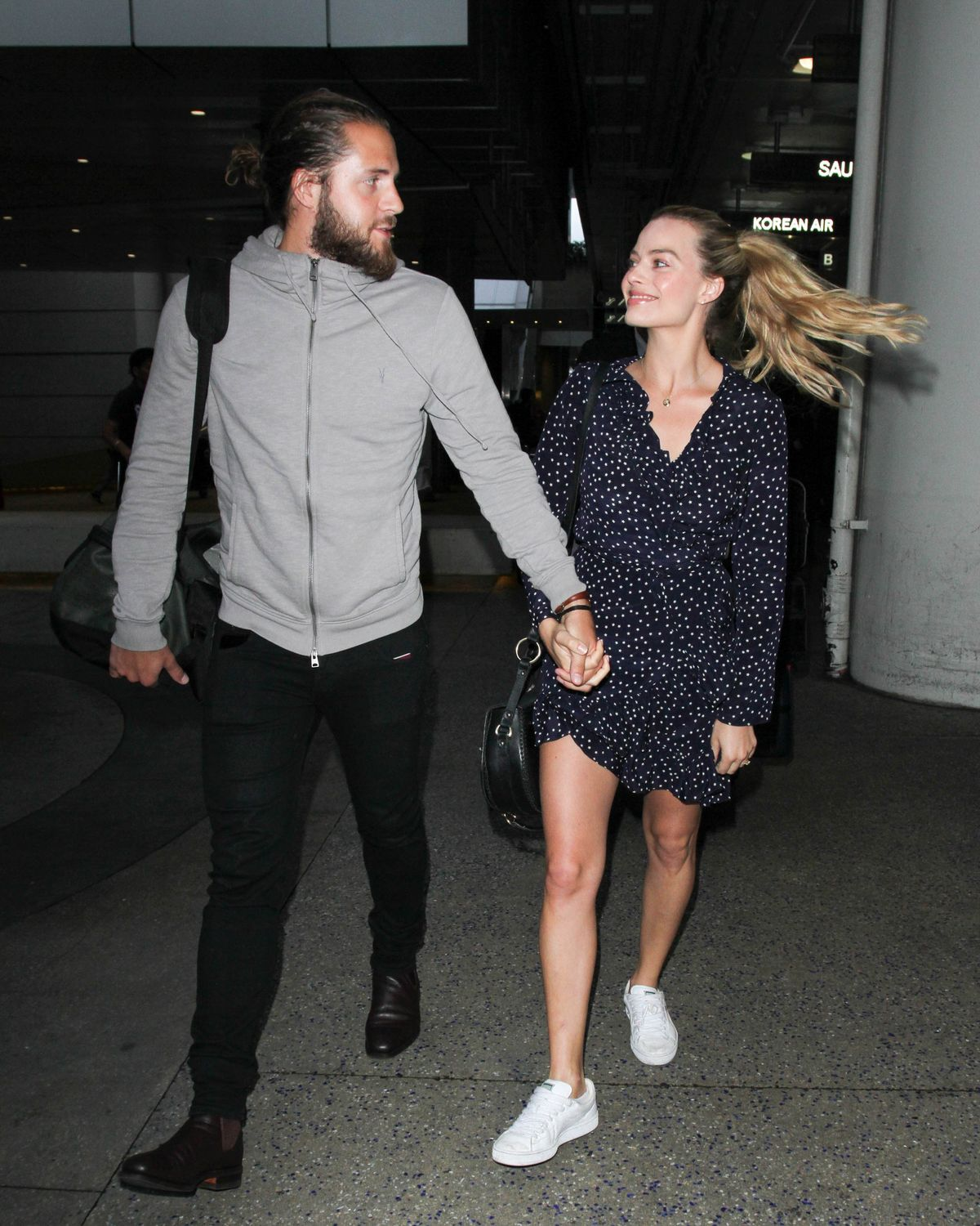 Margot Robbie and Tom Ackerley/Photo:Getty Images