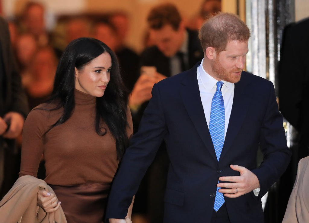 Image Credit: Getty Images / The Duke and Duchess of Sussex leaving after their visit to Canada House, central London, to meet with Canada's High Commissioner to the UK, Janice Charette.