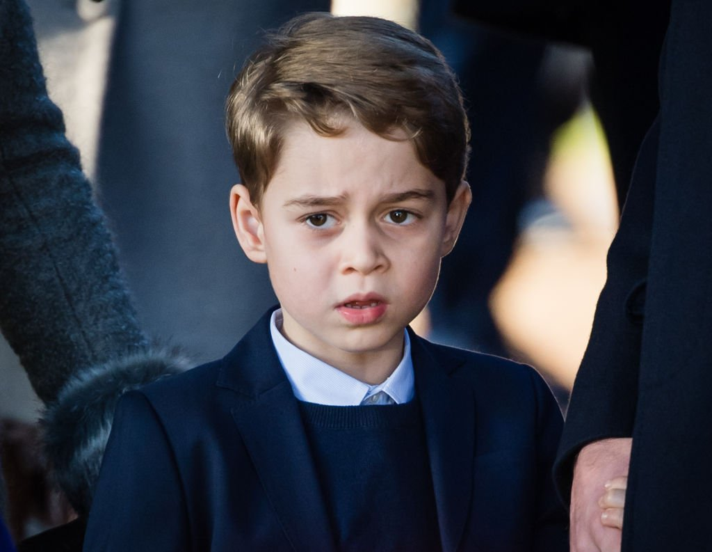 Image Credit: Getty Images / Prince George of Cambridge attends the service at Church of St Mary Magdalene on the Sandringham estate on December 25, 2019 in King's Lynn, United Kingdom.