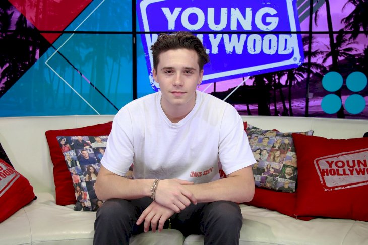 Brooklyn Beckham makes a Young Hollywood appearance/Photo:Getty Images