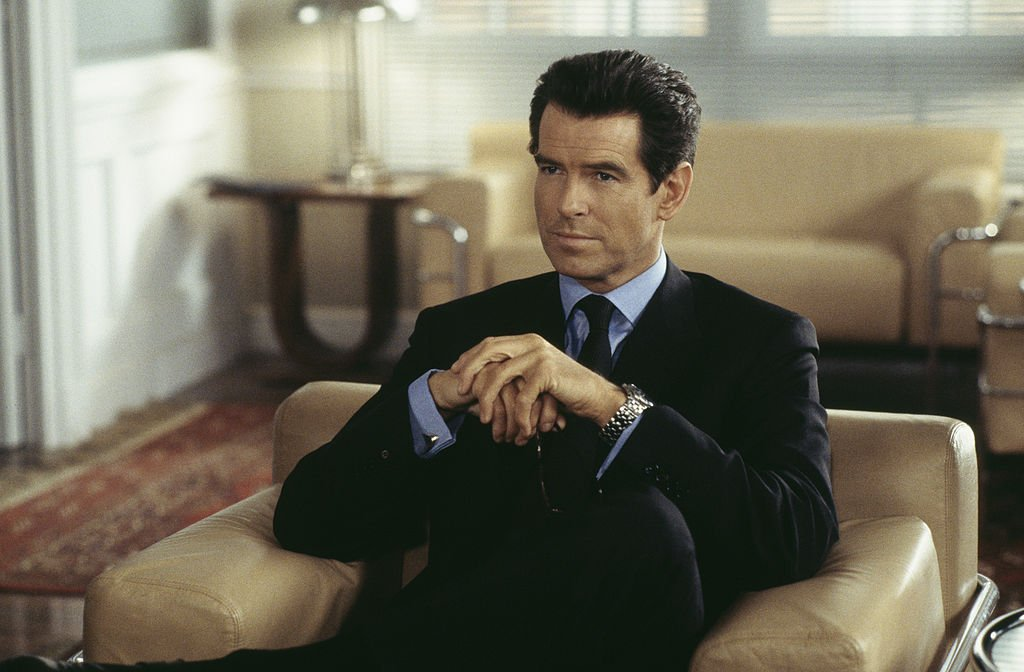 Image Source: Getty Images/Keith Hamshere | Still of Brosnan as 007