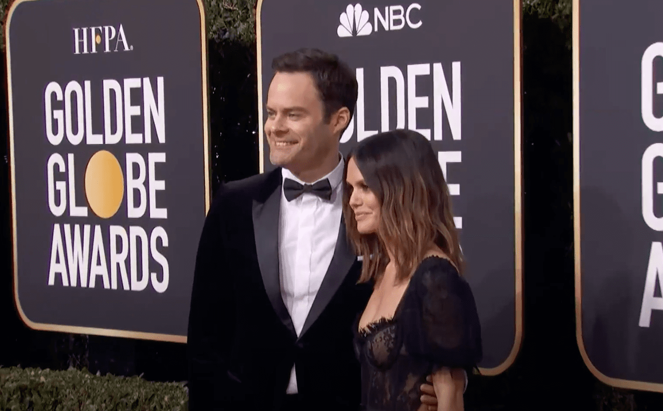Image Source: Youtube/ET Style/Bill and Rachel at the 2020 Golden Globes