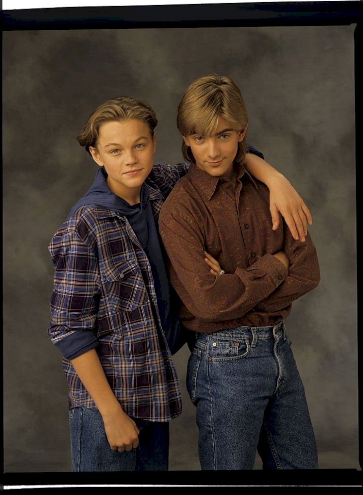 Image Credits: Getty Images / Walt Disney Television | Actors Leonardo DiCaprio and Jeremy Miller.
