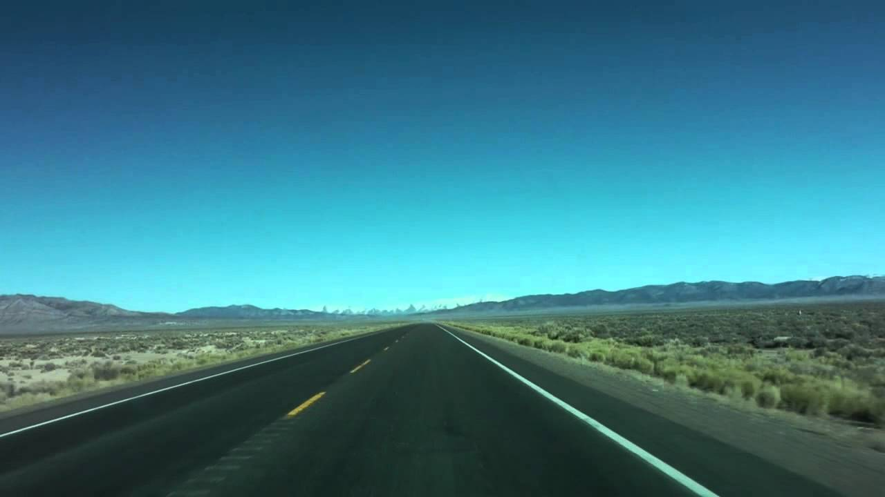 Route 50 in Nevada. Image Source: YouTube/ejvideos07