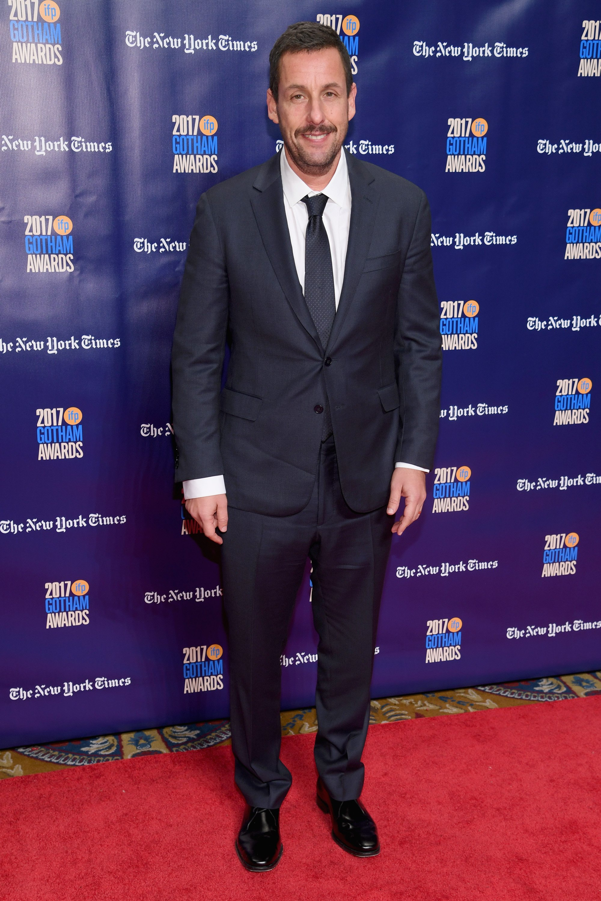 Image Credit: Getty Images/Getty Images for IFP/Dimitrios Kambouris  Adam Sandler attends IFP's 27th Annual Gotham Independent Film Awards