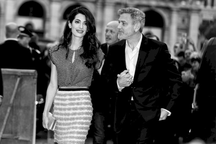 Image Credit: Getty Images/Ernesto Ruscio | George Clooney Amal Alamuddin 2019