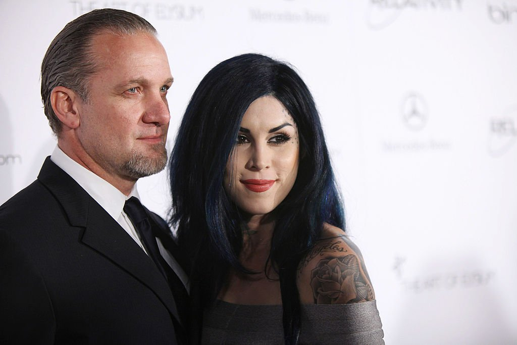 "Image Credits: Getty Images / Neilson Barnard | TV personalities Jesse James (L) and Kat Von D attend the Art Of Elysium ""Heaven"" Gala 2011 at The California Science Center Exposition Park on January 15, 2011 in Los Angeles, California."