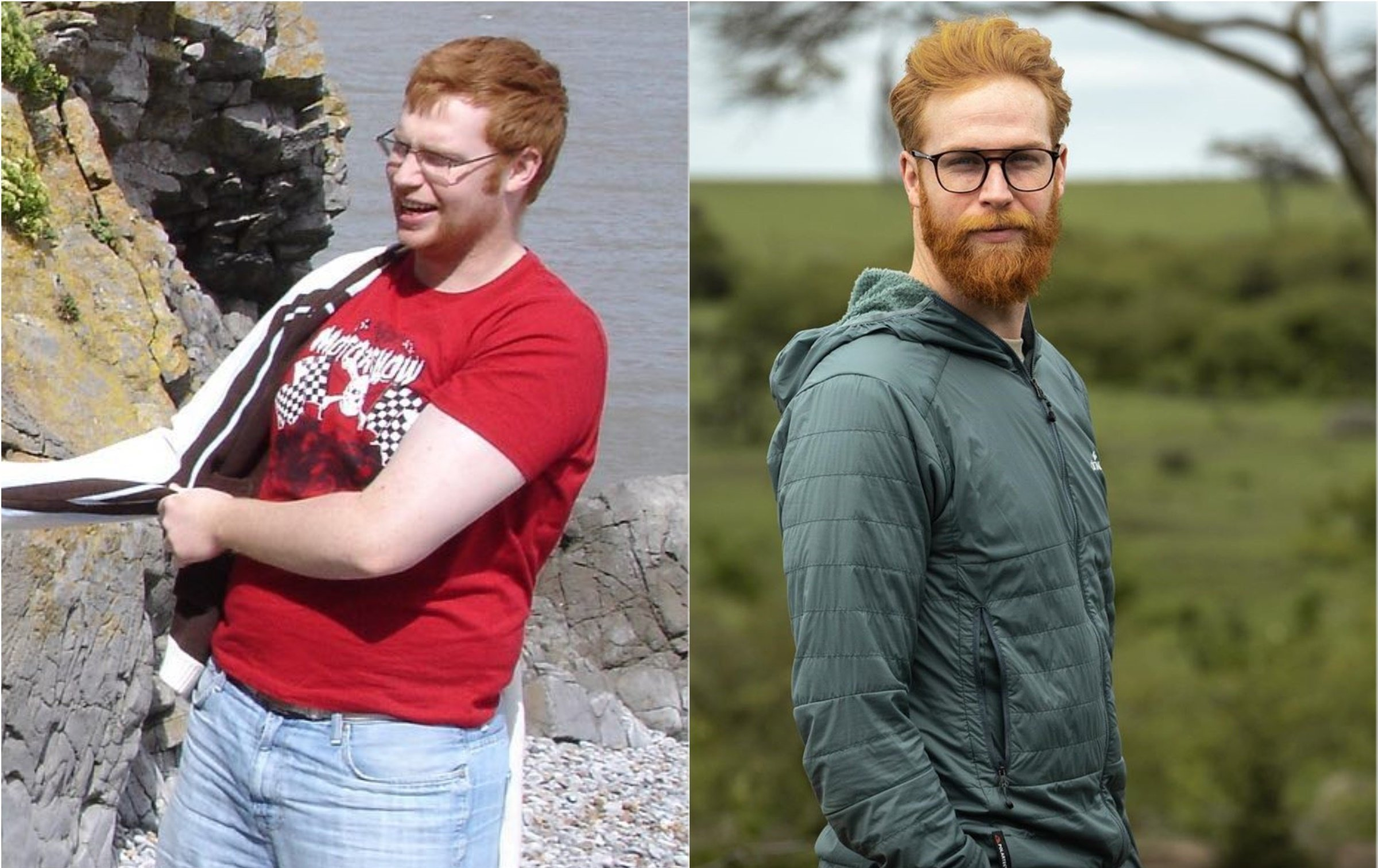He Shed the Pounds, Grew a Beard, and Became a Top Model!