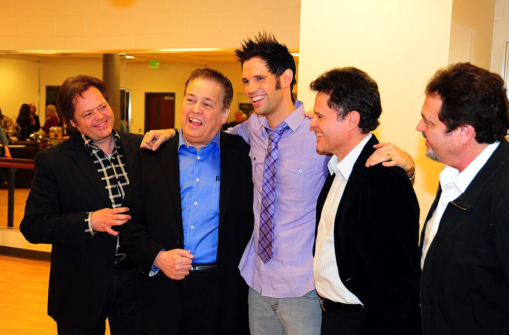 Image Credit: Getty Images / Jimmy Osmond, Alan Osmond, David Osmond , Donny Osmond and Jay Osmond at Covey Arts Center on March 1, 2010 in Salt Lake City.