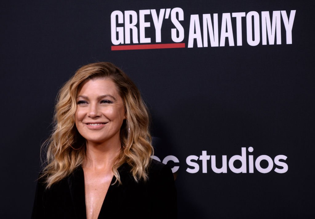 "Image Credit: Getty Images / Actress Ellen Pompeo arrives at the 300th Episode Celebration for ABC's ""Grey's Anatomy"" at TAO Hollywood on November 4, 2017 in Los Angeles, California."