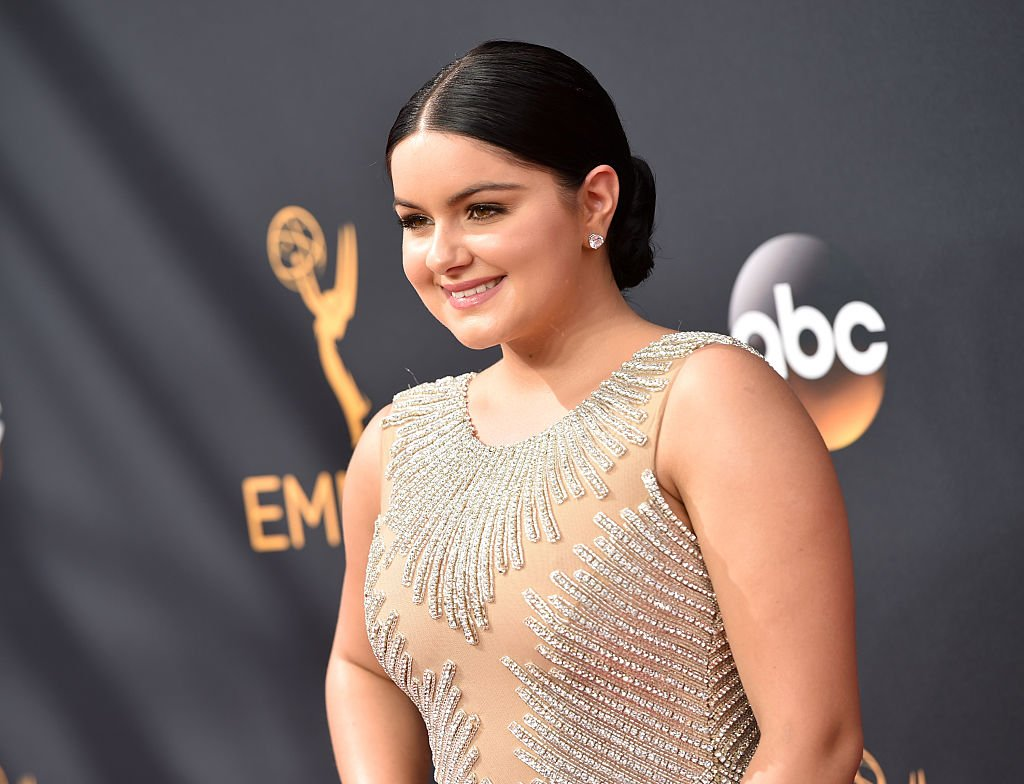 Image Credit: Getty Images / Actress Ariel Winter arrives at the 68th Annual Primetime Emmy Awards at Microsoft Theater on September 18, 2016 in Los Angeles.