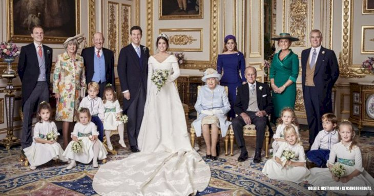 Eugenie and Harry's wedding photos have one 'sad' difference that says a lot about the royal family