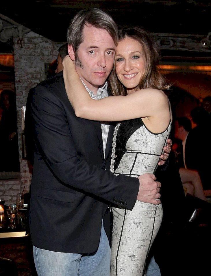 "Image Credits: Getty Images / Michael Loccisano | Actor Matthew Broderick and wife, actress Sarah Jessica Parker attend the after party for ""Wonderful World"" during the 2009 Tribeca Film Festival at 675 Bar on April 27, 2009 in New York City."
