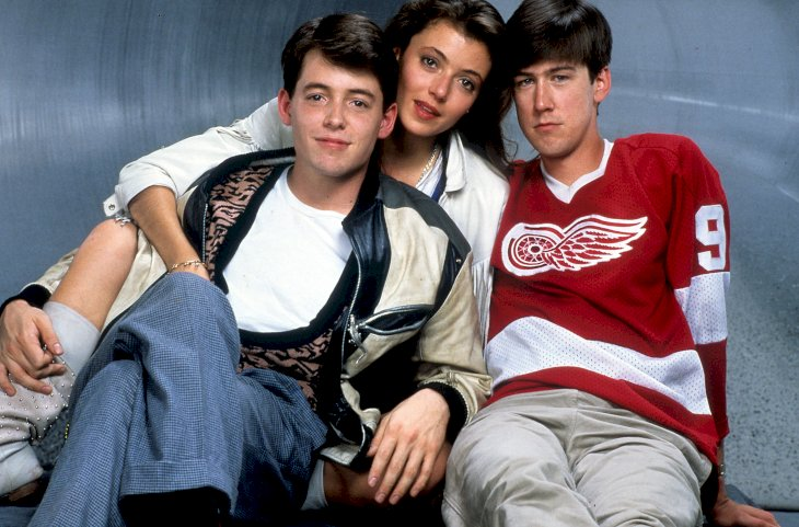 Image Credit: Getty Images/Paramount | The main cast of Ferris Bueller's Day Off