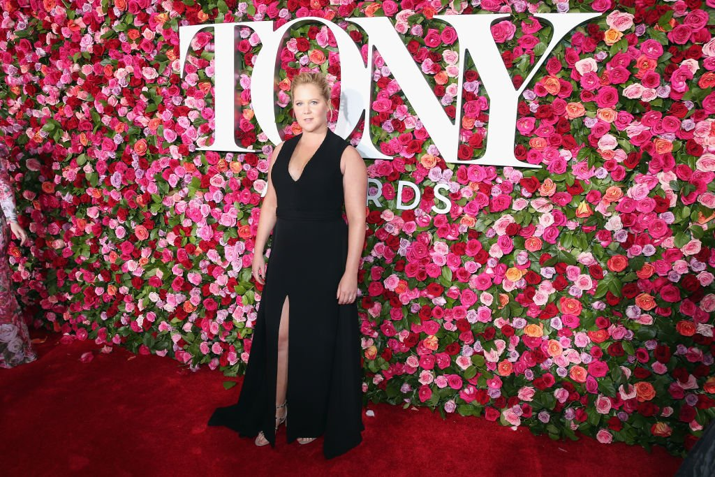 Image Credit: Getty Images / Amy Schumer attends the 72nd Annual Tony Awards at Radio City Music Hall on June 10, 2018 in New York City.