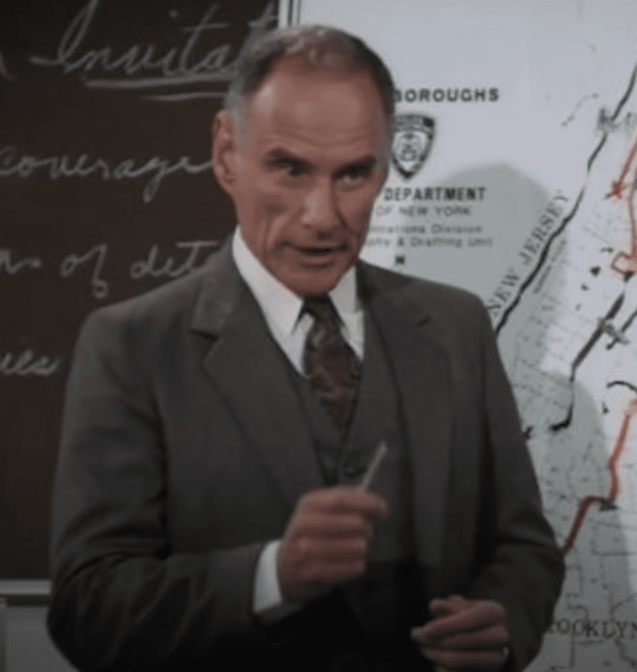 Image Credits: YouTube / HOW THEY CHANGED | Michael Fairman as Inspector Knelman
