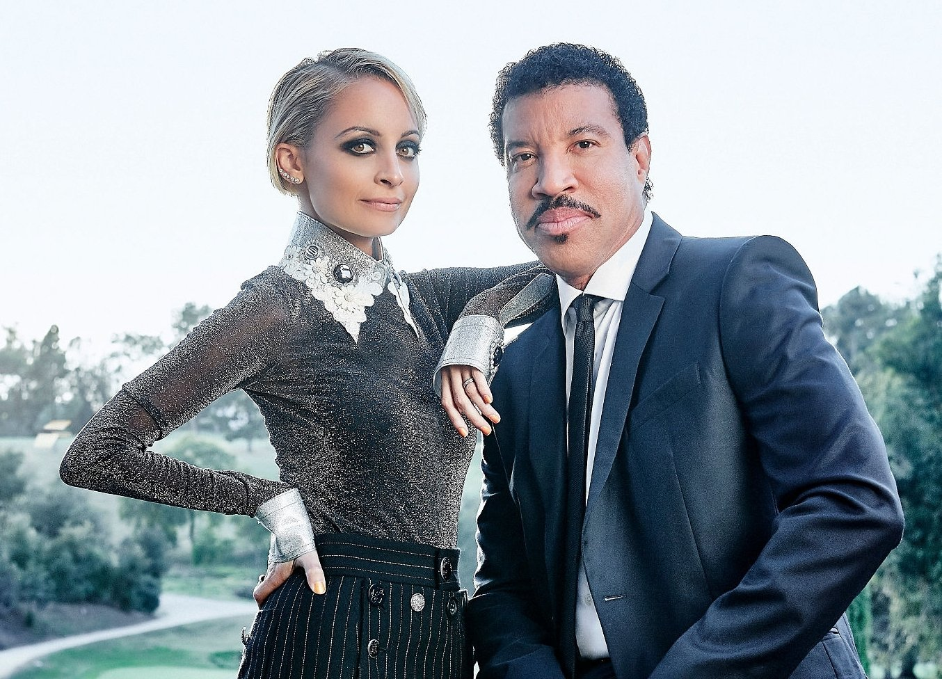 Image Credit: Getty Images/Lionel and granddaughter Nicole