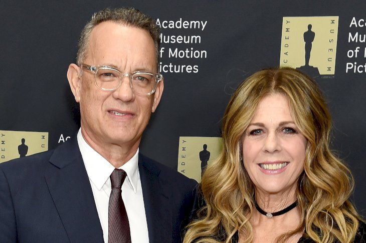 Image Credits: Getty Images / Gregg DeGuire | Tom Hanks and Rita Wilson attend The Academy Museum Of Motion Pictures Unveiling of the Fully Restored Saban Building at Petersen Automotive Museum on December 4, 2018 in Los Angeles, California.