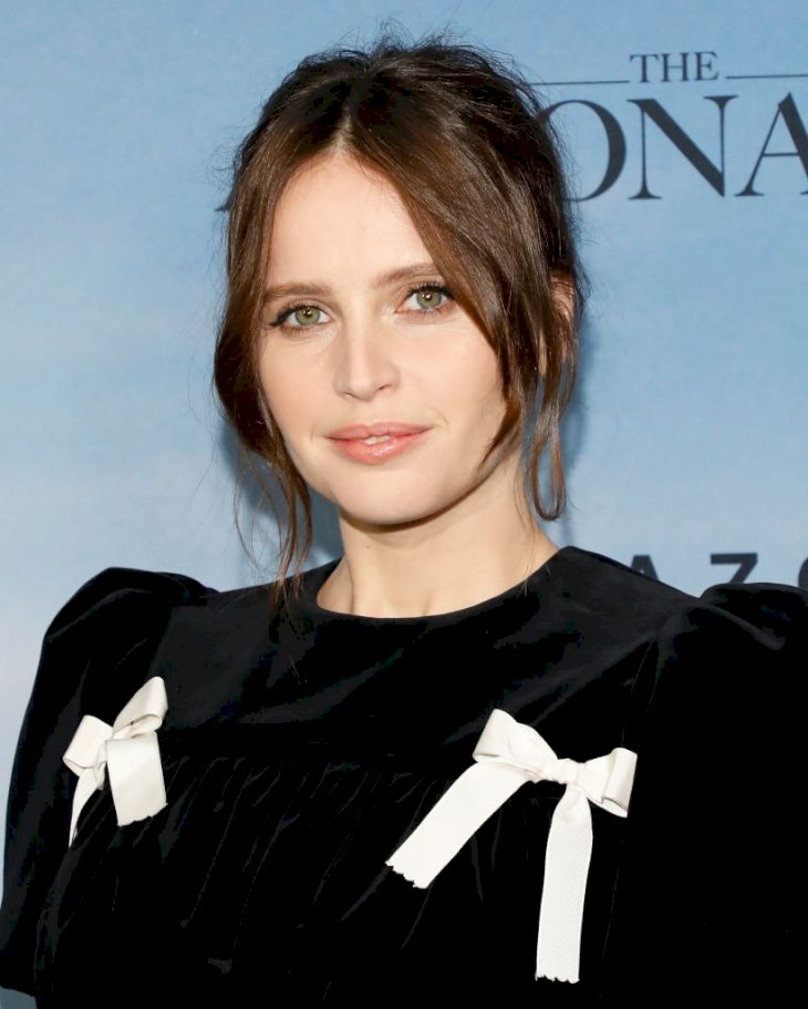 Image Credit: Getty Images / Felicity Jones on the red carpet.